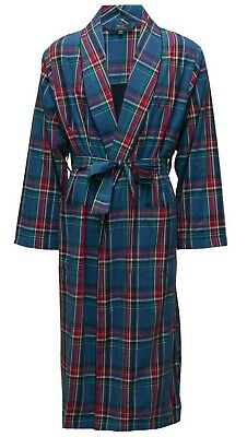 $107.61 • Buy  Men's Ralph Lauren Cotton Dressing Gown Robe Towelling Lined Plaid Small/Medium