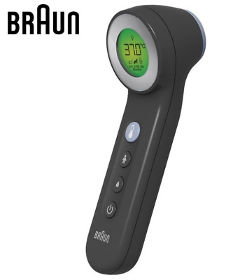 $ CDN241.64 • Buy Infrared Non Contact Thermometer Forehead Body Temperature BRAUN BNT400 BLACK