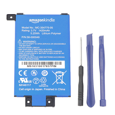 $11.29 • Buy OEM Battery For Amazon Kindle PaperWhite DP75SDI 6  2013 2014 2nd/3rd Generation