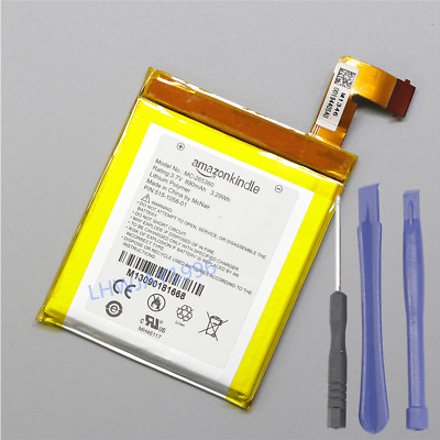 $11.39 • Buy NEW Battery For MC-265360 Amazon Kindle 4 5 6 4G WiFi D01100 515-1058-01 + Tools