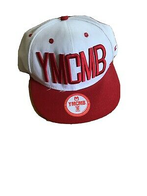 Official YMCMB SnapBack Cap. Red & White. Good Condition. • 4.30£