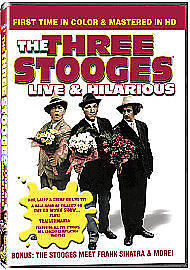 The Three Stooges - Live And Hilarious (DVD, 2009) • 3.56£
