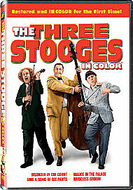The Three Stooges - In Colour (DVD, 2009) • 14.50£