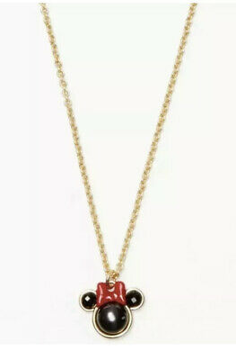 $ CDN90.39 • Buy Kate Spade Disney Minnie Mouse Mini Pendant Necklace Jewelry NWT Sold Out Style