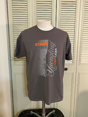 $8.99 • Buy  Yuengling Light Lager Beer Gray T Shirt Men's Size XL