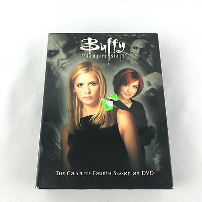 $9.99 • Buy Buffy The Vampire Slayer - Season 4 (DVD, 6-Disc Set, Six Disc Set)