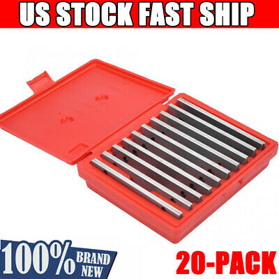 $44.99 • Buy 20Pcs Hardened Parallels Tools Precision Parallel Set Machinist 1/2  To 1-5/8