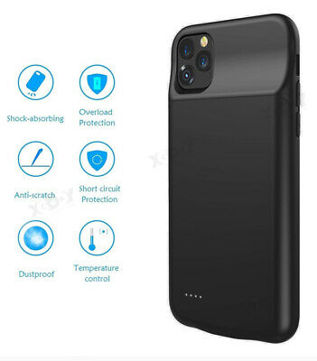 AU36.95 • Buy Backup 4500mAh Charger Cover Smart Battery Case Power Bank For IPhone 11 Pro MAX