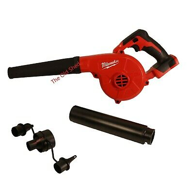 AU145 • Buy Milwaukee M18BBL-0 18V Li-Ion Cordless 3-Speed Compact Blower - Skin Only