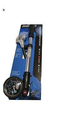 Beto Alloy Shock Pump With 1.5  Guage Including A Bleed Valve • 23.99£