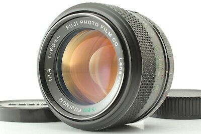 AU411.97 • Buy 【Near Mint】FUJI EBC FUJINON 50mm F/1.4 Late Model MF Lens M42 Mount Japan #341