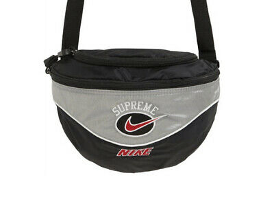 $ CDN207.33 • Buy SS19 Supreme X Nike Shoulder Bag - Silver, Brand New 100% Authentic