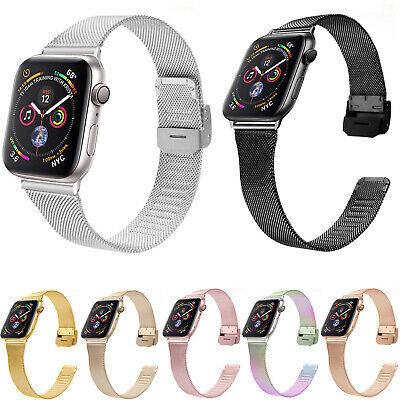 AU15.29 • Buy Colorful Milanese Loop Band For Apple Watch IWatch Mesh Strap 44mm 40mm 42/38mm