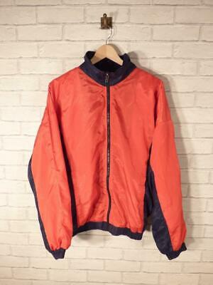 VTG Shell Suit Jacket Top Festival Tracksuit Windbreaker 80s/90s Large #B3083 • 19.95£