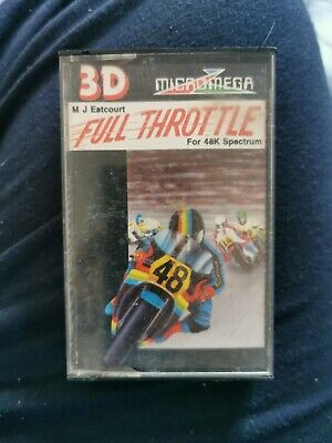 Sinclair ZX Spectrum ~ Full Throttle By Micromega ~ SCC • 2£