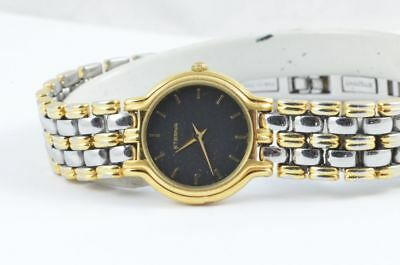 Eterna Women's Watch Steel/Gold Quartz 25MM With Steel Bracelet Vintage • 206.19£