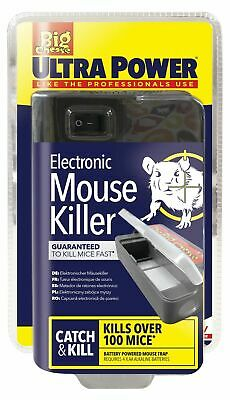 Ultra Power Electronic Electric Mouse Trap Rodent Killer Mice Zapper Trap Stv722 • 23.95£