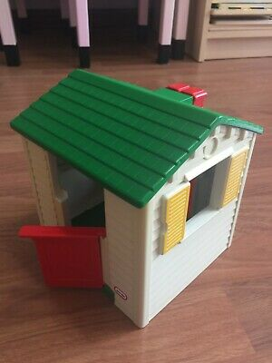 $19.99 • Buy Vintage Little Tikes Blue Roof Doll House Cozy Cottage Playhouse