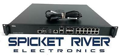 $375 • Buy Dell SonicWall NSA 3600 Security Appliance Firewall 1RK26-0A2 - Transfer Ready