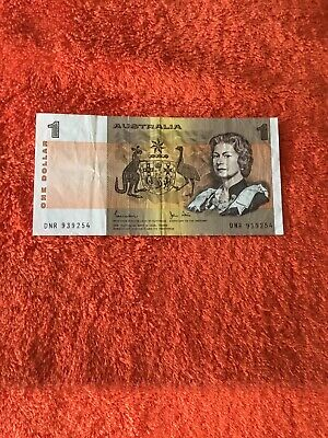 AU5 • Buy Australian Banknotes 1982 X$1 Last Year Of Paper Circulated ,