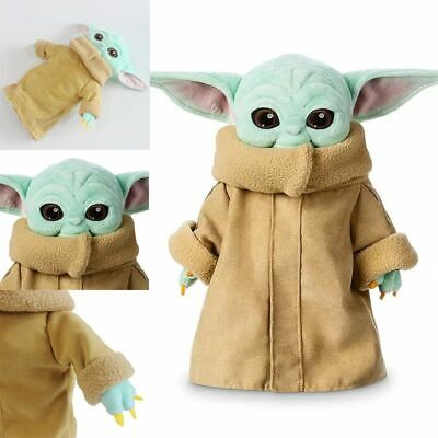 $9.99 • Buy The Mandalorian Baby Yoda Plush Toy Stuffed Doll Kids Cute Xmas Best Gifts Kids