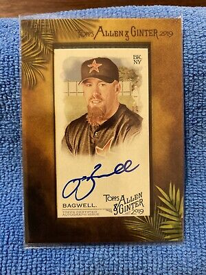$10.50 • Buy Jeff Bagwell 2019 Topps Allen & Ginter Framed Mini Auto Autograph Houston Astros
