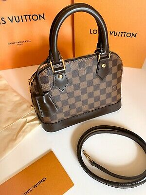 AU1950 • Buy AUTHENTIC & Brand NEW With Tags* Louis Vuitton Alma BB In Damier Ebene