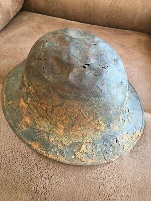 WW1 British Military Metal Helmet • 30£
