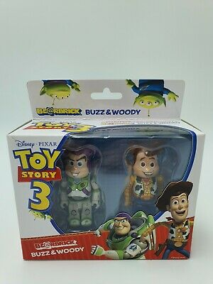 $269 • Buy Bearbrick Be@rbrick Toy Story Woody & Buzz Lightyear 100% Medicom BNIB Rare