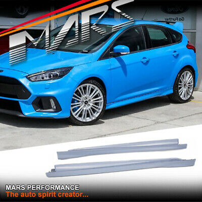 AU499.99 • Buy RS Style Side Skirts For Ford Focus LZ & LW Hatch 2012-2018 Plastic Bodykits