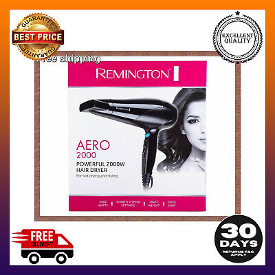 AU28.99 • Buy Hair Dryer Authentic Remington Aero 2000 Powerful Styling Blower FREE SHIPPING