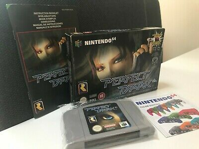 AU26 • Buy Perfect Dark (Nintendo 64 N64 PAL) COMPLETE BOXED GAME - GREAT CONDITION!