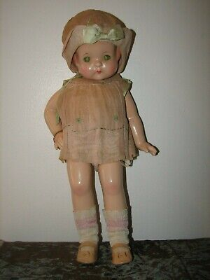 $74 • Buy SWEET Vintage EFFANBEE Patsy Ann 19  Composition Doll