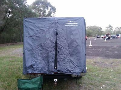 AU150 • Buy Tent To Suit Any Dual Cab Styleside Ute With A Canopy - In Grey - Simple Setup