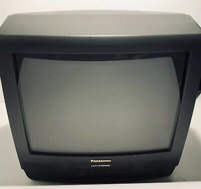 $134.95 • Buy Panasonic Pv M2089 20  CRT Color TV/VCR VHS Combo 20 In Retro Gaming Television