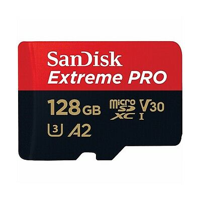 AU40.24 • Buy SanDisk Extreme Pro Micro SD Card 128GB 170MB/s SDXC A2 V30 Mobile/Tablet Memory