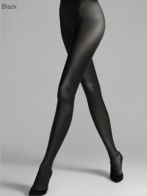 Wolford Satin De Luxe Tights, Luxury Shine, High Gloss, Shiny Opaque Tights • 47£
