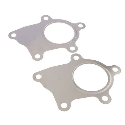 $ CDN10.53 • Buy Stainless Steel Turbo Charger Downpipe Flange Gasket 5Bolt Weldable - 2 Pieces