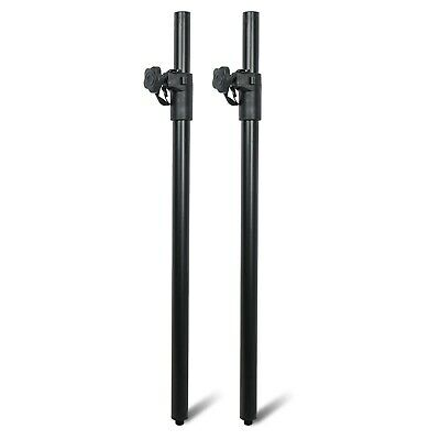 $46.74 • Buy Sound Town 2-Pack Subwoofer Speaker Poles With Adjustable Height And M20 Thread