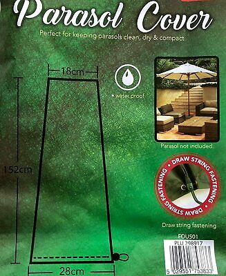 £6.50 • Buy  Parasol Cover Garden Protection Cover Waterproof