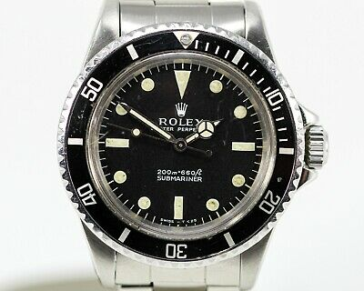 $ CDN13577 • Buy Vintage Rolex Submariner Stainless Steel Automatic