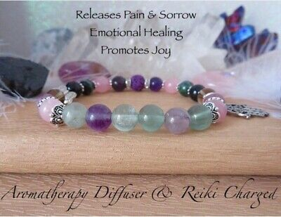 AU48 • Buy Emotional Healing & Anxiety Relief , Lava Stone Diffuser , Healing Bracelet