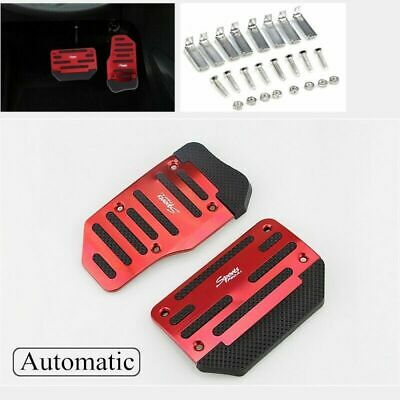 AU24.88 • Buy Red Non-Slip Automatic Gas Brake Foot Pedal Pad Cover Car Accessories AU