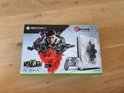 AU698 • Buy Brand New Sealed Xbox One X Console Gears 5 Limited Edition Bundle 1TB AUS Stock