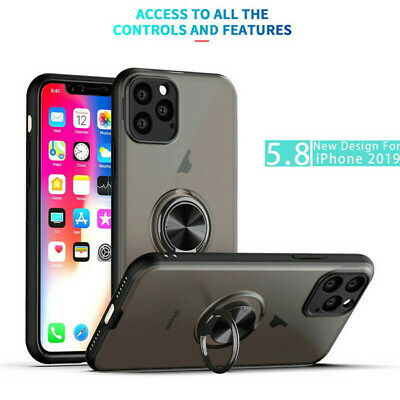 AU15.58 • Buy For IPhone 11 Pro Max XS XR 7 8Plus Shockproof Phone Case With Ring Holder Cover