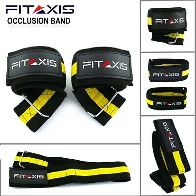 $ CDN16.92 • Buy FITAXIS Occlusion Training Bands Leg Blood Flow Restriction Muscles Arm Biceps