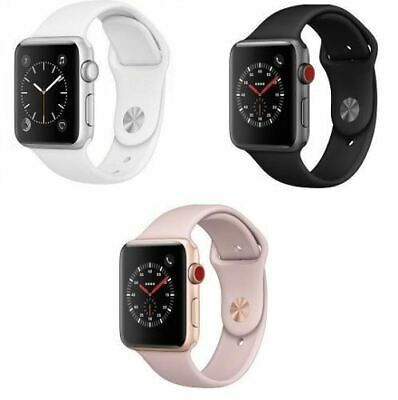 $ CDN310.45 • Buy Apple Watch Series 3 GPS + Cellular Aluminum 38/42mm Case With Sport Band