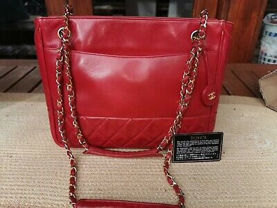 AU1100 • Buy Authentic Vintage Chanel Shoulder Tote