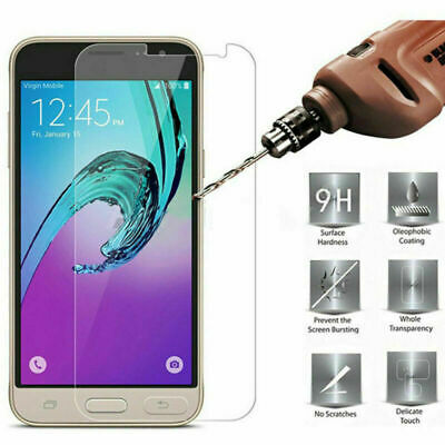 AU5.17 • Buy 2Pc Clear Tempered Glass Screen Protector For Samsung Galaxy J2 J3 J4 J5 J6 Pro