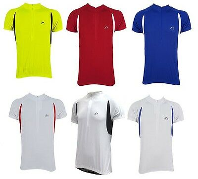 £9.99 • Buy More Mile Mens Cycling Cycle Bike Running Top T-Shirt Jersey